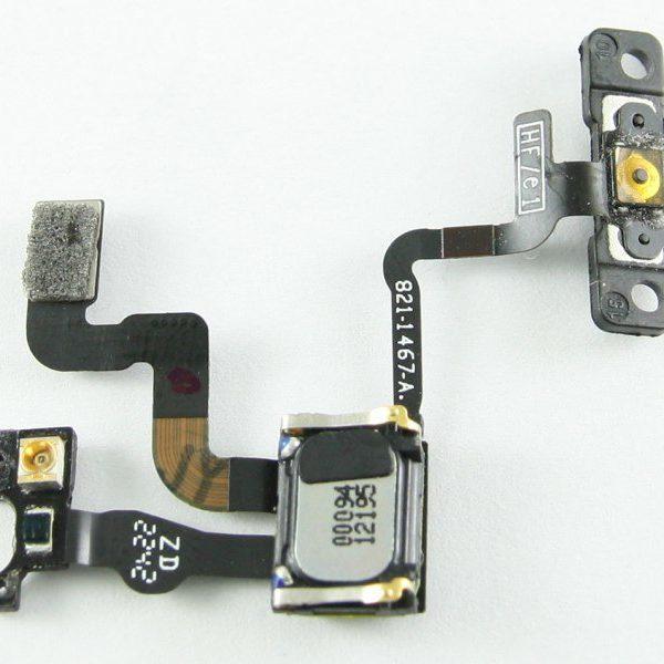 Шлейф для iPhone 4S на кнопку включения / динамик / датчик приближения