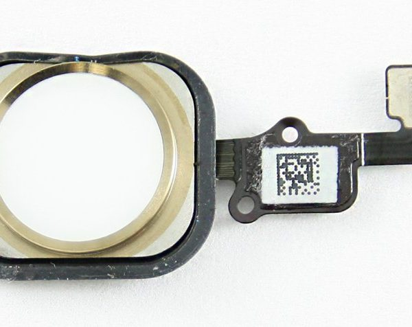 Шлейф для iPhone 6 / 6 Plus на кнопку HOME в сборе Золото