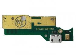 Шлейф для Lenovo S930 на плате с разъемом зарядки / микрофон