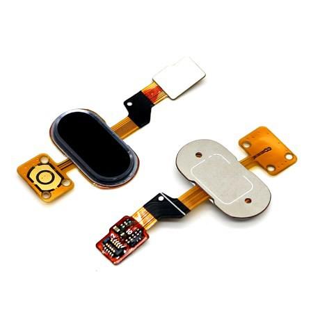 Шлейф для Meizu M3S Mini на кнопку HOME в сборе Черный
