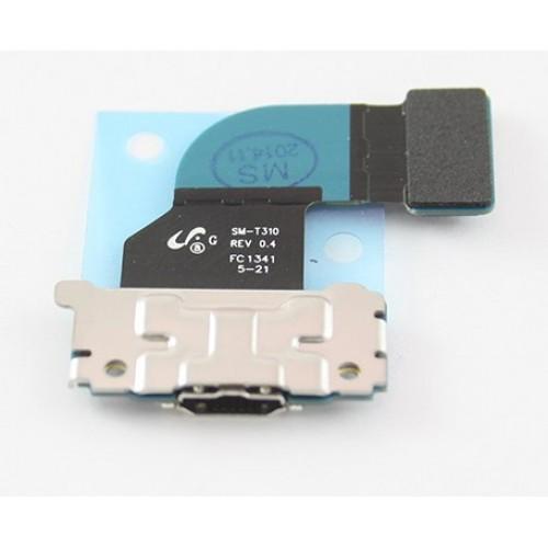 Шлейф для Samsung T310 на плате с разъемом зарядки