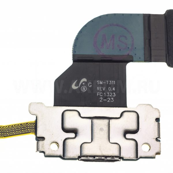Шлейф для Samsung T311 на плате с разъемом зарядки / микрофон
