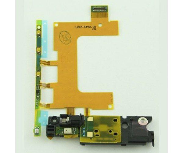 Шлейф для Sony C5502 (ZR) на кнопки громкости / вибро / микрофон