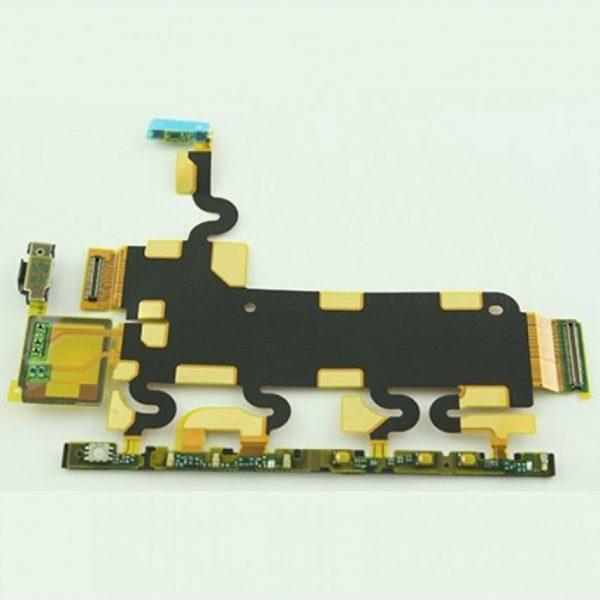 Шлейф для Sony C6903 (Z1) на кнопки включения / громкости / камера