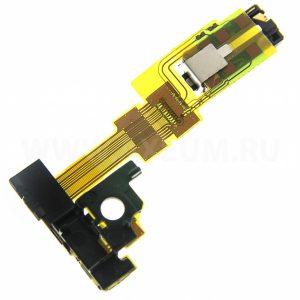 Шлейф для Sony C6903 (Z1) разъем гарнитуры / сенсор