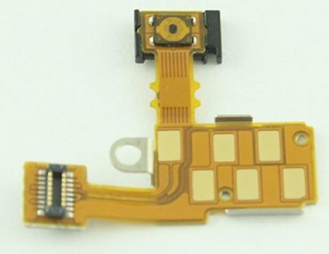 Шлейф для Sony ST27i (Go) на разъем гарнитуры / кнопка включения