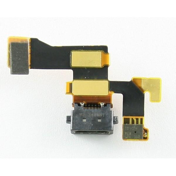 Шлейф Nokia 1020/909 с разъемом зарядки / микрофон