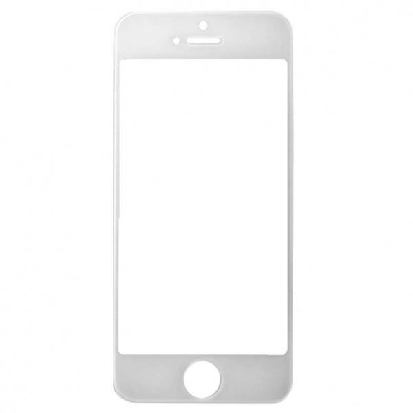 Стекло для iPhone 5/5S Белое (для переклейки)