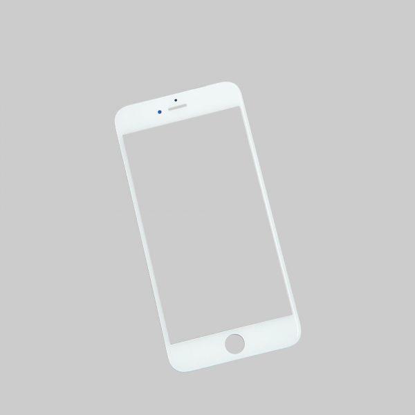Стекло для iPhone 6 Plus/6S Plus Белое (для переклейки)
