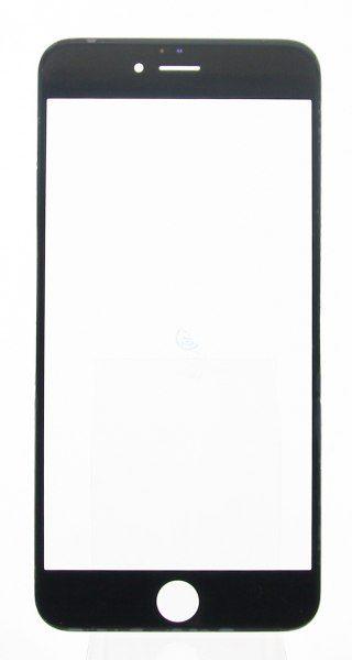 Стекло для iPhone 7 Черное (для переклейки)