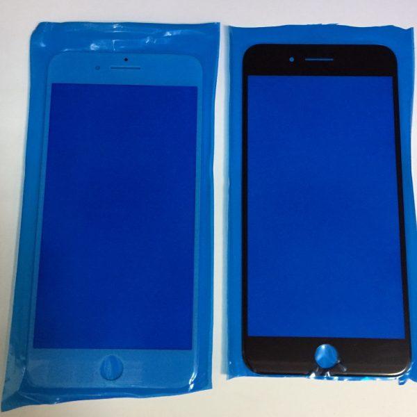 Стекло для iPhone 7 Plus Черное (для переклейки)