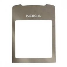 Стекло для Nokia 8800 Sirocco Серебро