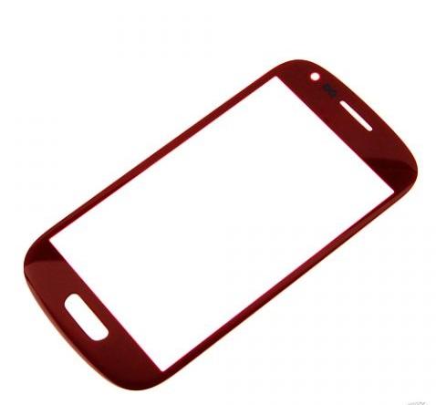 Стекло для Samsung i8190 (S3 Mini) Красное