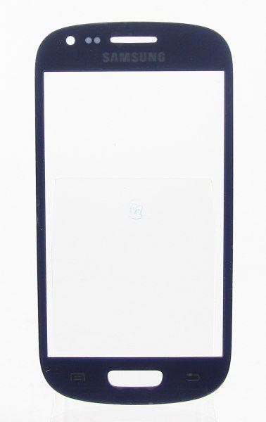 Стекло для Samsung i8190 (S3 Mini) Синее