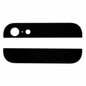 Стекло корпуса для iPhone 5 (комплект) Черное