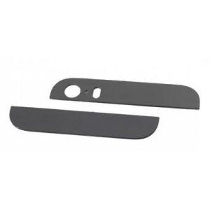 Стекло корпуса для iPhone 5S (комплект) Черное
