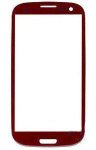 Стекло для Samsung i9500/i9505 (S4) Красное