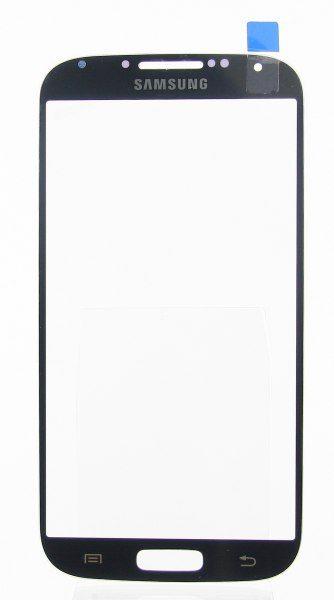 Стекло для Samsung i9500/i9505 (S4)  Серое