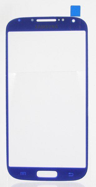 Стекло для Samsung i9500/i9505 (S4) Синее