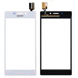 Тачскрин для Sony D2303/D2302 (M2/M2 Dual) Белый