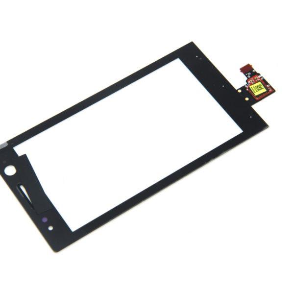 Тачскрин для Sony ST25i (U) Черный