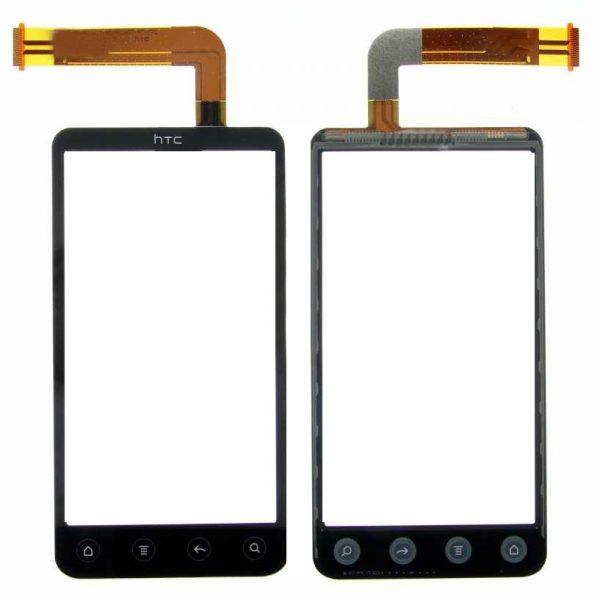 Тачскрин для HTC Evo 3D Черный
