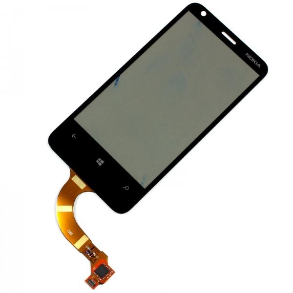 Тачскрин для Nokia 620 REV.3 Черный