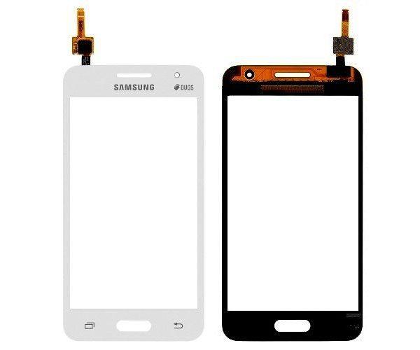 Тачскрин для Samsung G355H Белый