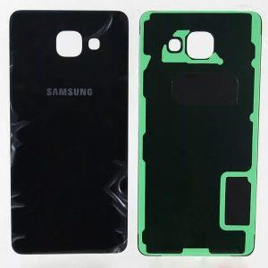 Задняя крышка для Samsung A510F (A5 2016) Черная
