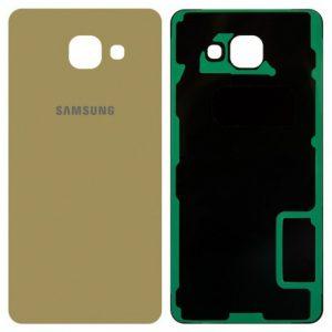 Задняя крышка для Samsung A510F (A5 2016) Золотая