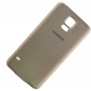 Задняя крышка для Samsung G900 (S5) Золотая