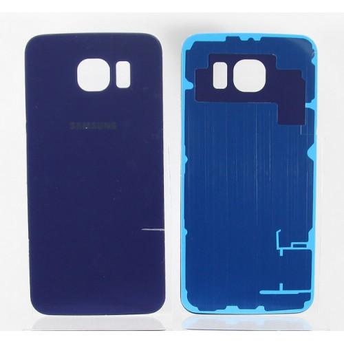 Задняя крышка для Samsung G925F (S6 Edge) Синяя