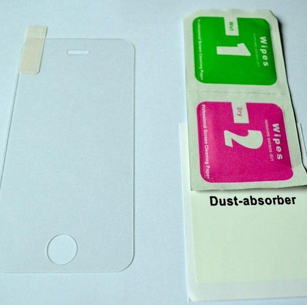 Защитное стекло для iPhone 4/4S (комплект)