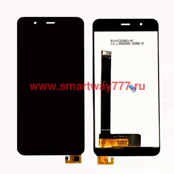 Дисплей для Asus ZenFone 3 Max (ZC520TL) с тачскрином Черный