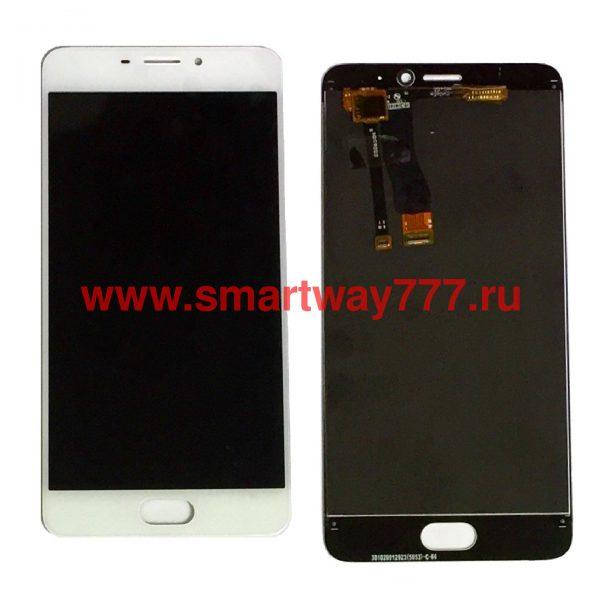 Дисплей для Meizu M5 Note с тачскрином Белый