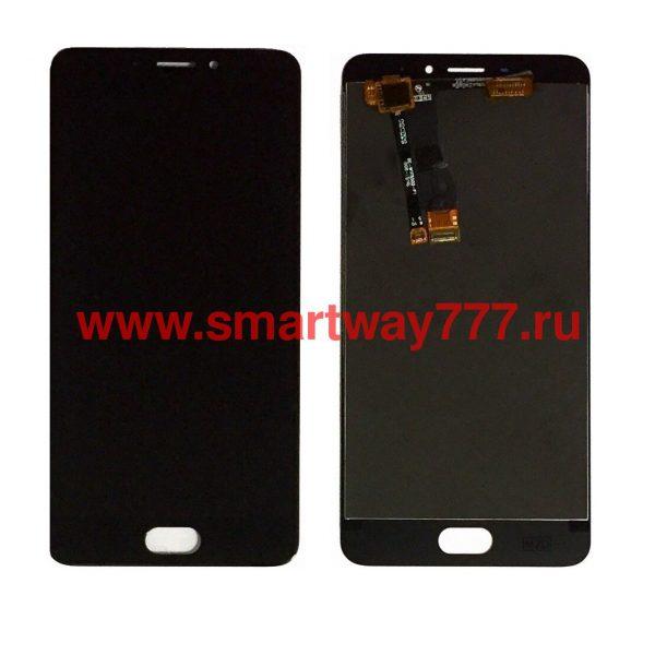 Дисплей для Meizu M5 Note с тачскрином Черный