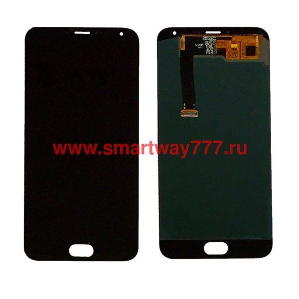 Дисплей для Meizu MX5 с тачскрином Черный