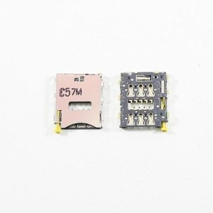 Контакты SIM для Sony D6603/D6633/D5803/E5823/Tablet Z3 Compact (Z3/Z3 Dual/Z3 Compact/Z5 Compact)