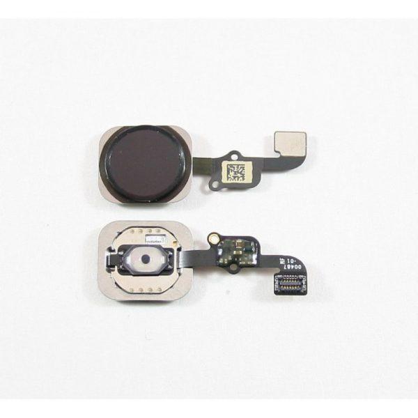 Шлейф для iPhone 6S на кнопку HOME в сборе Черный
