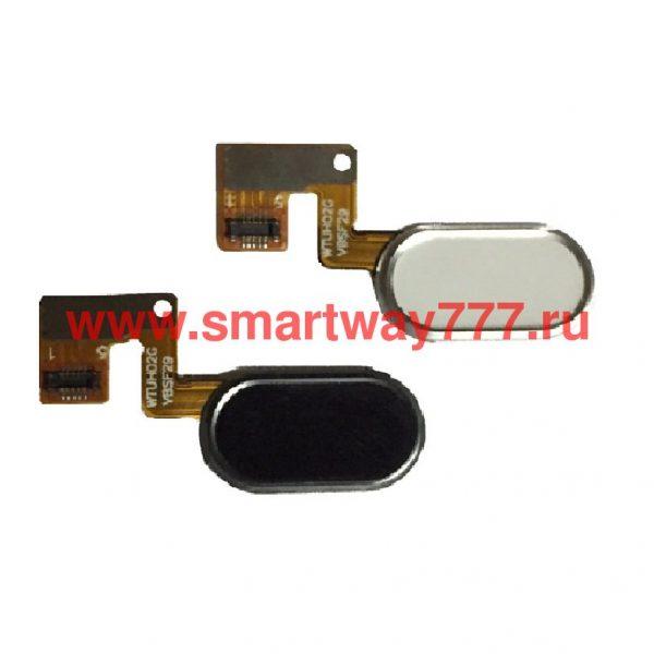 Шлейф для Meizu M3 Note (L681) на кнопку HOME в сборе Черный