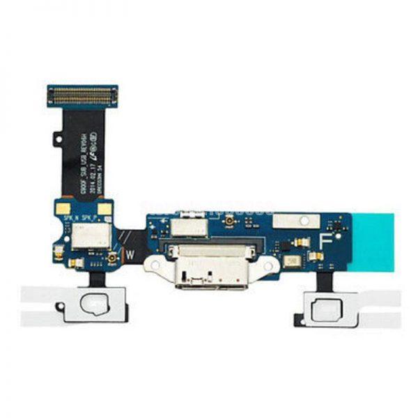Шлейф для Samsung G900F (S5) на плате с системным разъемом/сенсор/микрофон