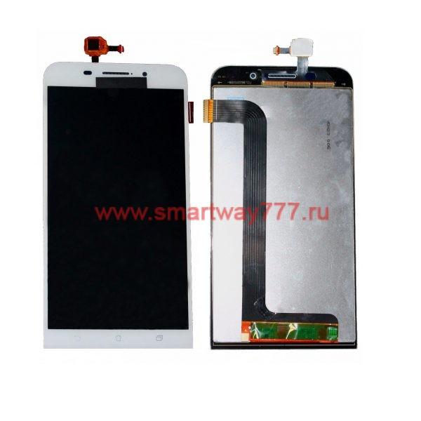 Дисплей для Asus ZenFone Max (ZC550KL) с тачскрином Белый