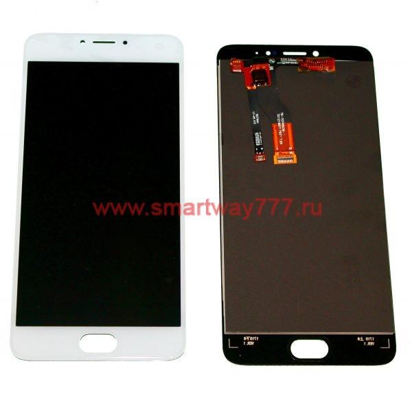 Дисплей для Meizu M3 Note (M681) в сборе с тачскрином Белый