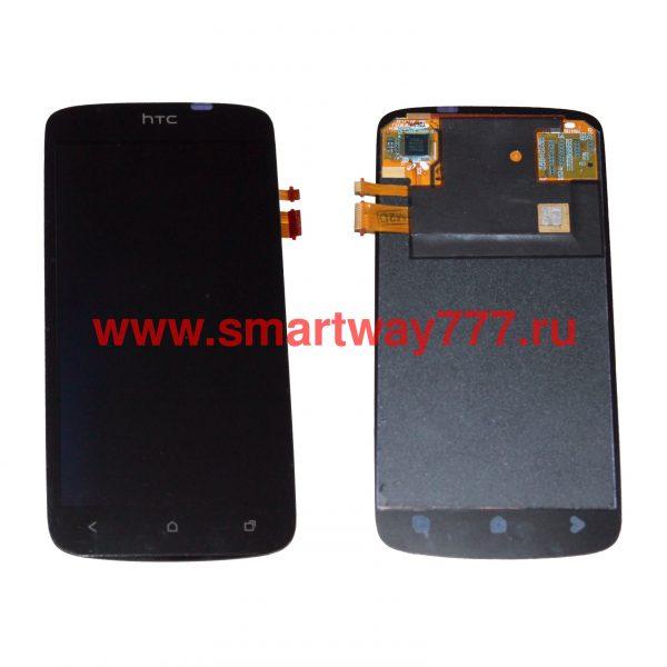 Дисплей для HTC One S с тачскрином Черный