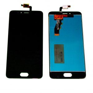Дисплей для Meizu M5S в сборе с тачскрином Черный