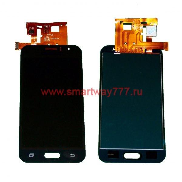 Дисплей для Samsung J120F (J1 2016) в сборе с тачскрином Черный