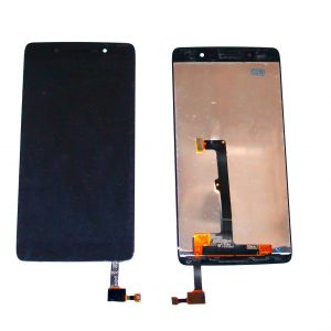 Дисплей для Alcatel OT-6055K (Idol 4) с тачскрином Черный