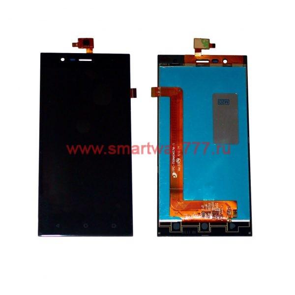 Дисплей для Highscreen Boost 3/ 3 SE / 3 SE Pro в сборе с тачскрином Черный