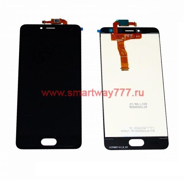 Дисплей для Meizu M5C с тачскрином Черный