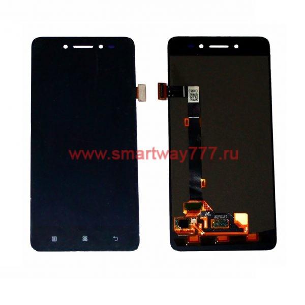 Дисплей для Lenovo S90 с тачскрином Черный